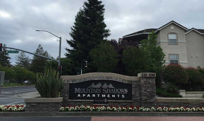 Medium Commercial Installation - Mountain Shadows Apts, Rohnert Park