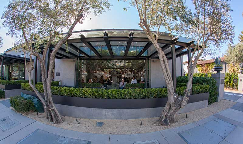 Large Commercial Installation - Restoration Hardware, Yountville